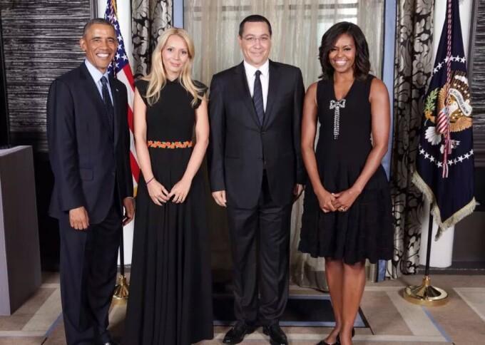 42f1241855 Premierul Victor Ponta s-a pozat alaturi de Barack Obama