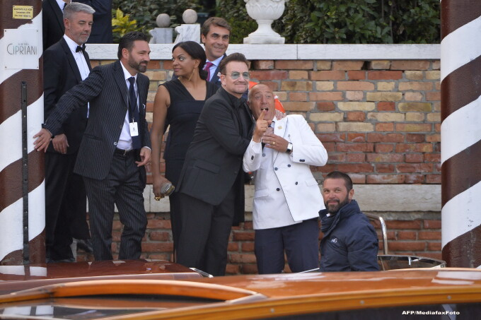 George Clooney s-a casatorit cu Amal Alamuddin  Ce VIP-uri s