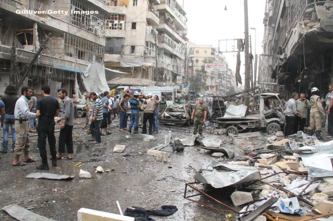 Alep, Siria - GETTY
