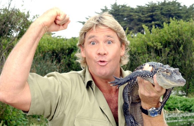 Steve Irwin - Getty