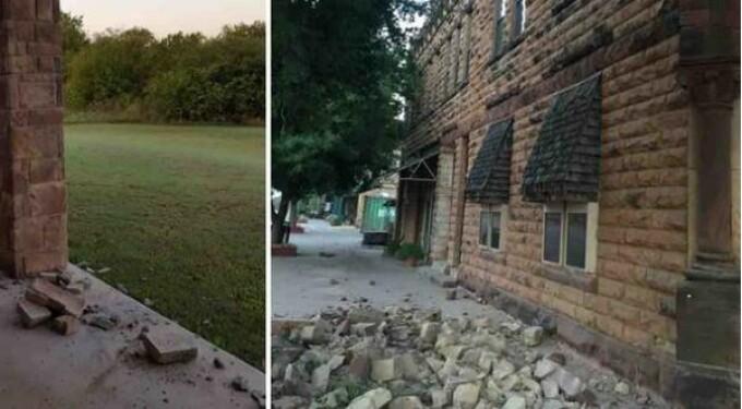 cutremur Oklahoma
