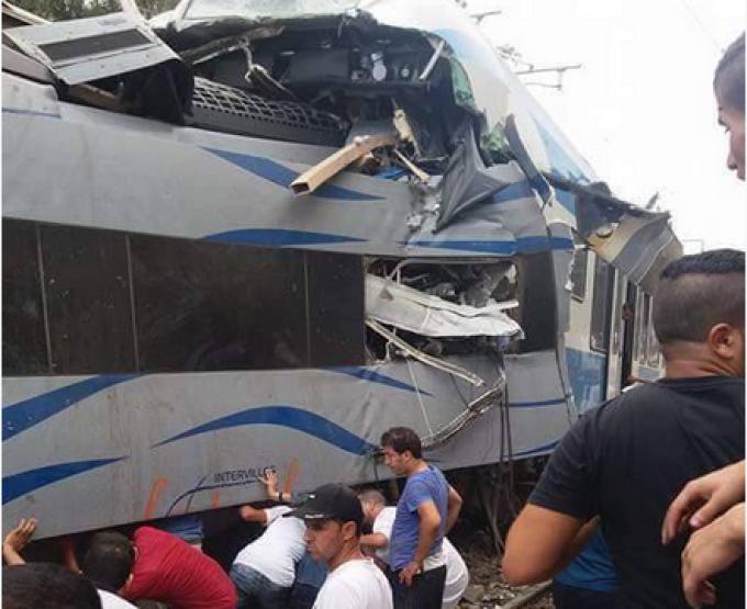 ciocnire de tren in Algeria