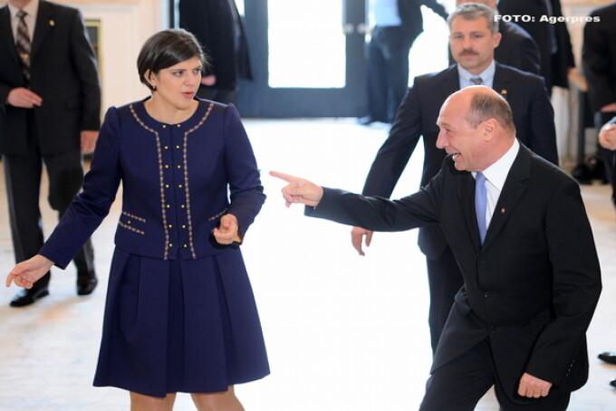 Laura Codruta Kovesi, Traian Basescu