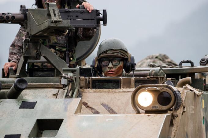 coreea de sud, armata