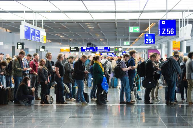 Coadă aeroport