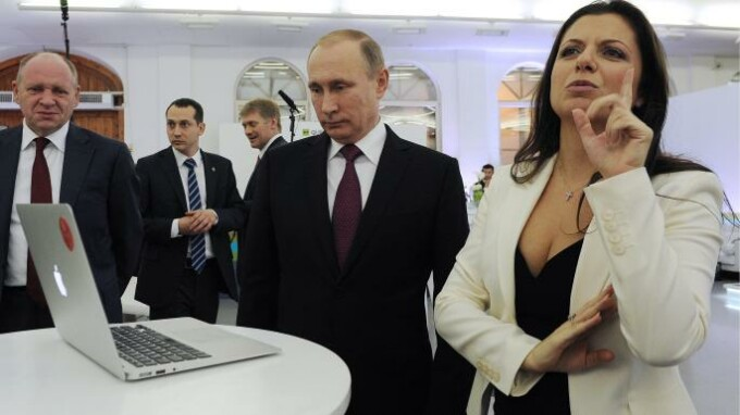 Margarita Simonyan, Russia Today