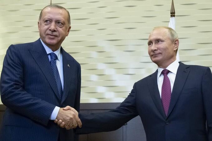 Întâlnire Putin-Erdogan