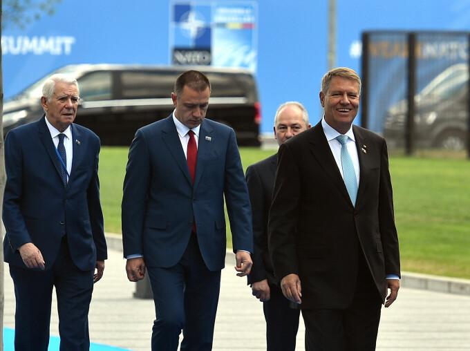 Klaus Iohannis, Teodor Melescanu, Mihai Fifor