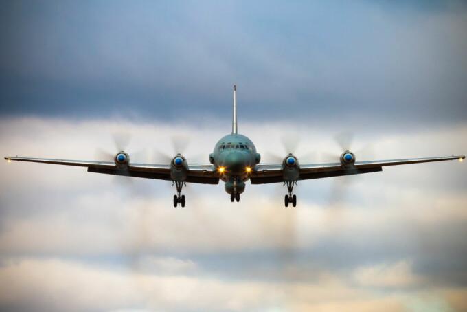 avion Iliusin Il-20M rusesc in Siria