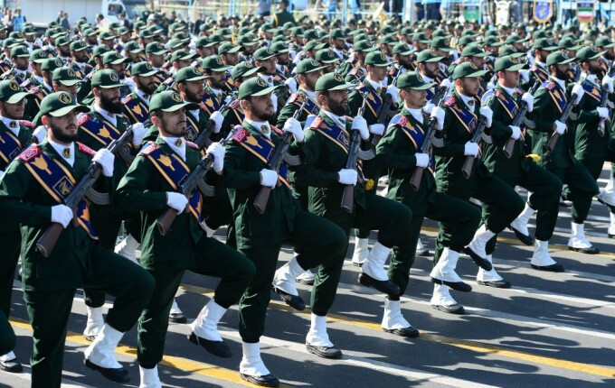 Parada militara la Teheran