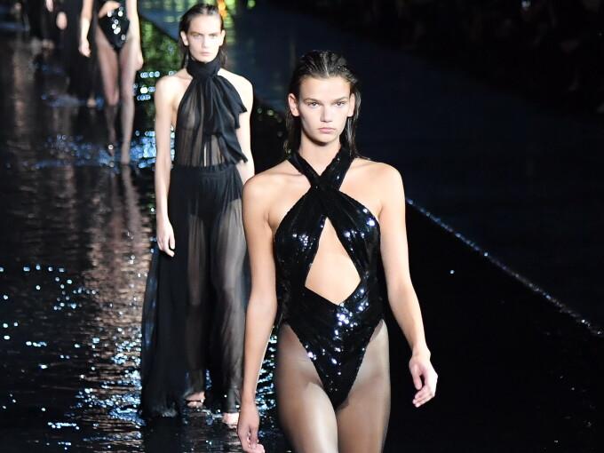 Prezentare Yves Saint Laurent la Săptămâna Modei de la Paris