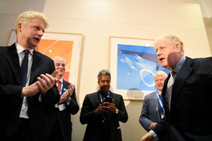 Boris și Jo Johnson