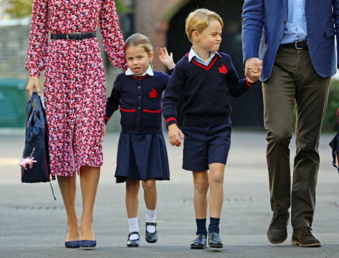 Prinţesa Charlotte, în vârstă de 4 ani, a început şcoala