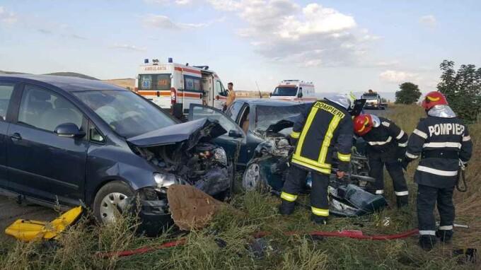 Accident cumplit în Covasna