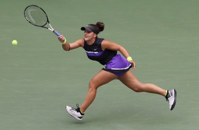 Bianca Andreescu in finala US Open
