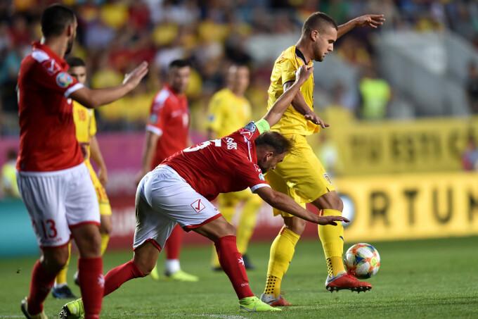România a învins Malta cu 1-0 prin golul lui George Pușcaș