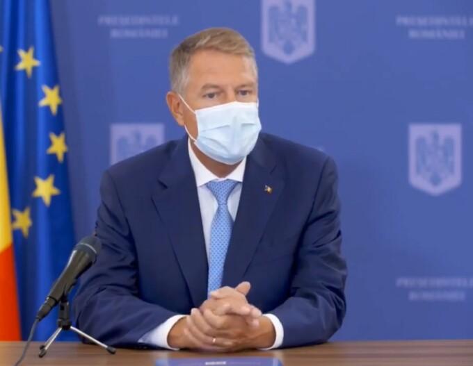 Klaus Iohannis: Îi încurajez pe părinți să-și trimită copiii la școală