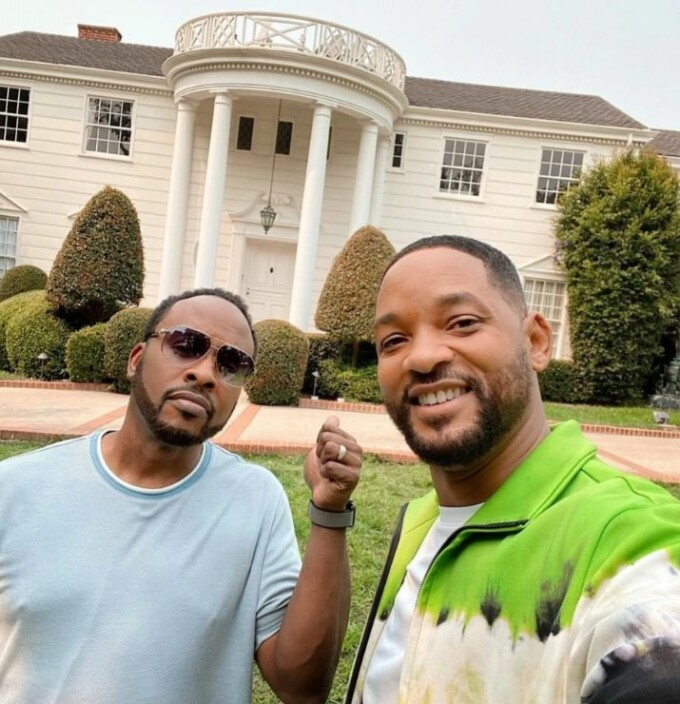 will smith bel air