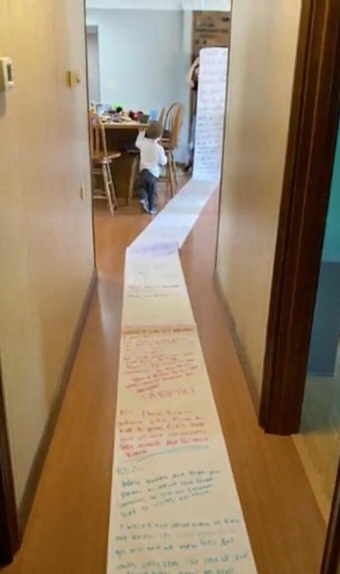 scrisoare gigantica