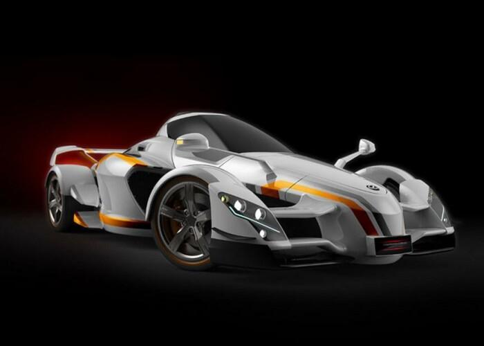 Tramontana XTR: Supercar-ul care va dezvolta nu mai putin de 888 de cai putere!