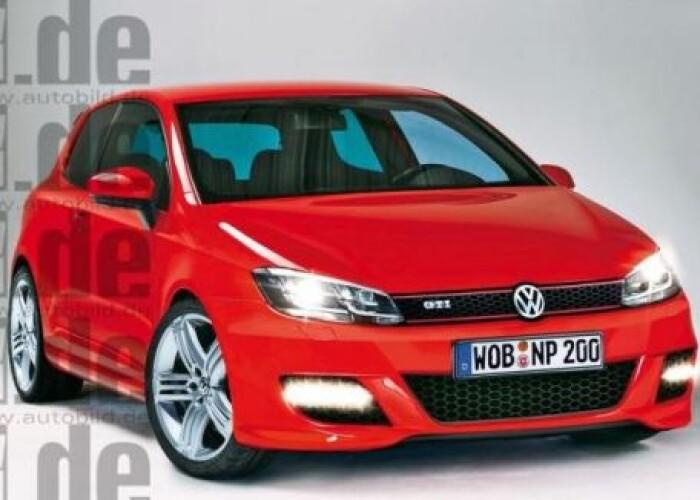 Primele imagini cu noul Volkswagen Golf VII, masina la care s-a lucrat 5 ani! FOTO