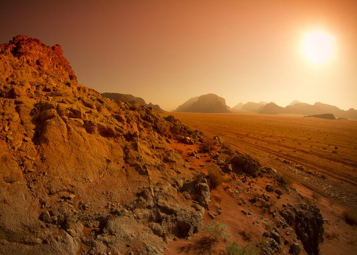 Proiect SF:  Vom incerca sa producem oxigen pe Marte . Uite cum: