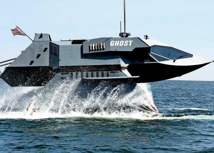 Nava care nu poate fi detectata de radar! Cum arata Ghost Ship VIDEO