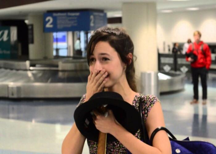 Ce a facut acest barbat pentru a-si surprinde iubita: Cea mai frumoasa cerere in casatorie! VIDEO