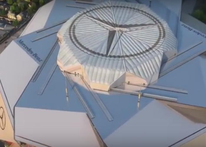 Mercedes va construi un stadion futurist pentru o echipă de fotbal american