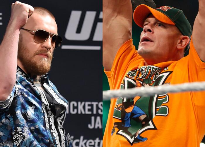 Conor McGregor l-a luat la injuraturi pe John Cena: Un bodybuilder ratat!