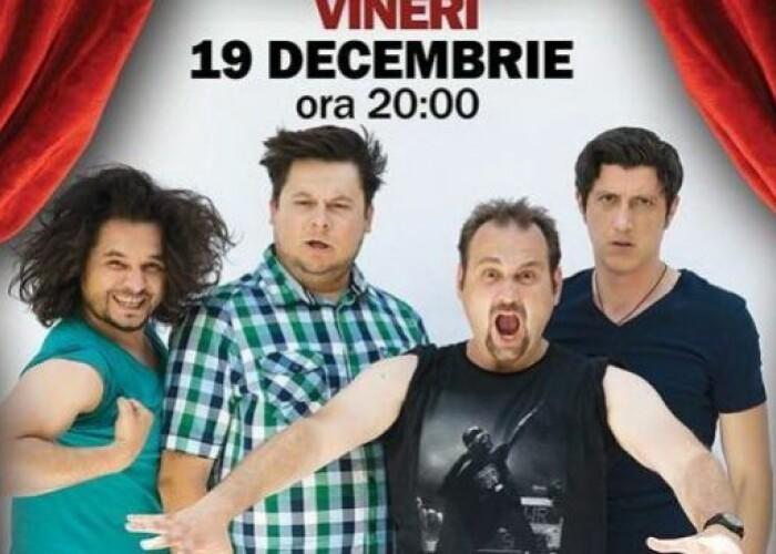 ProTV te trimite la stand-up comedy! Inscrie-te in concurs si poti castiga biletele duble la show-ul 4x4 Baieti Fierbinti!
