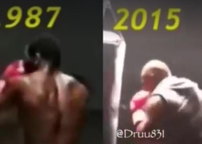 Fantastic! Cum se antreneaza Mike Tyson la 49 de ani! Gasiti diferenta intre cel de acum si cel din 1987