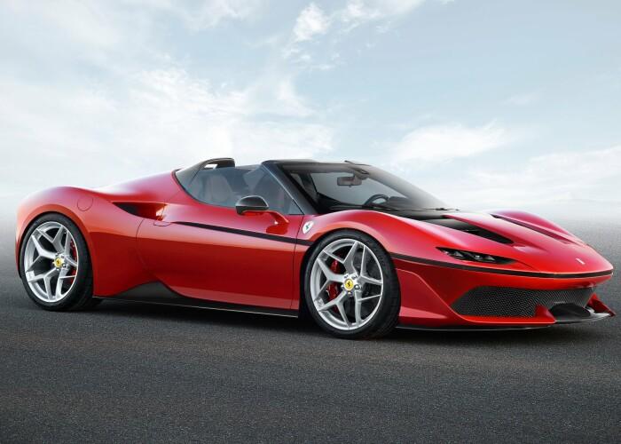 Masina de lux prezentata de Ferrari va fi vanduta intr-o singura tara! Doar 10 oameni vor putea conduce aceasta bijuterie