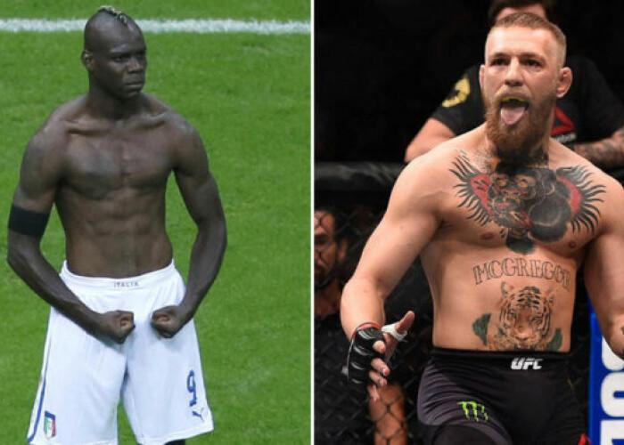 Balotelli l-a provocat pe McGregor: Este grozav, dar trebuie sa-l bati pe el ca sa fii cel mai bun!