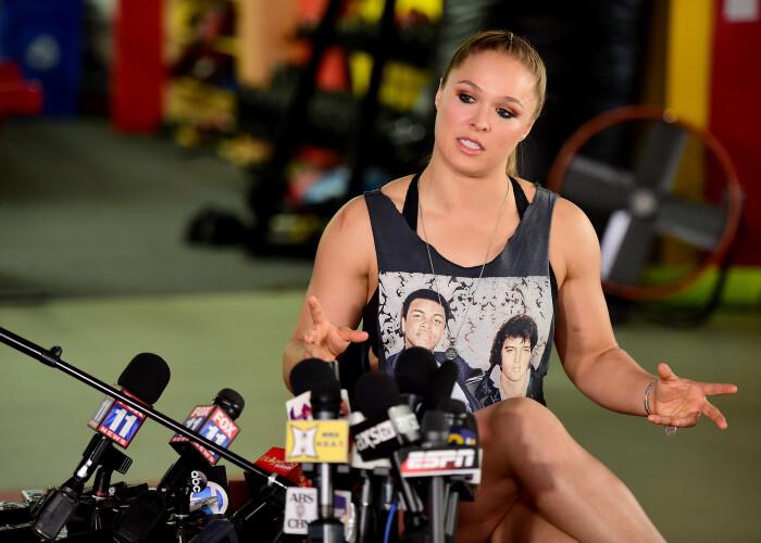 Ronda Rousey, intr-o superforma inaintea meciului cu Amanda Nunes. Cum arata americanca