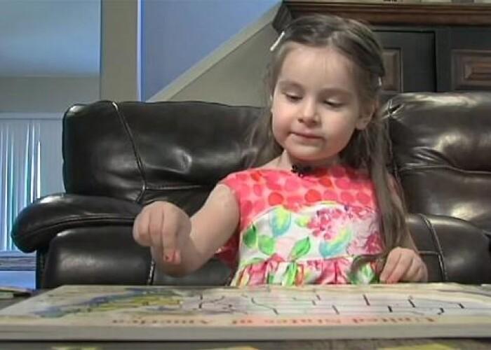 Are 3 ani, coeficient de inteligenta de 160 si a fost acceptata in Mensa! VIDEO