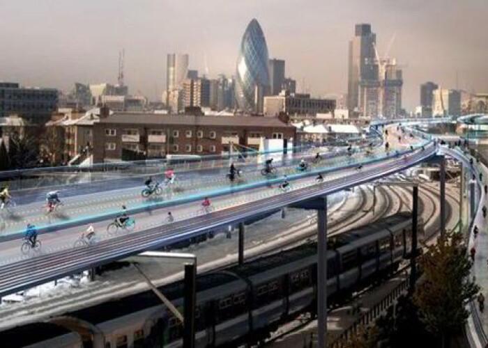 Mergi cu bicicleta? Acesta este proiectul impresionant care va revolutiona transportul pe 2 roti! VIDEO