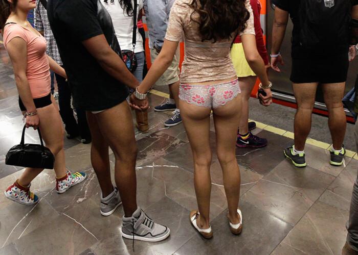 No Pants Subway Ride: Cum au sarbatorit oamenii din toata lumea ziua mondiala fara pantaloni! VIDEO