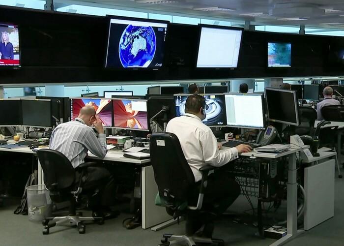 Imagini in premiera din interiorul Serviciului guvernamental de spionaj! VIDEO