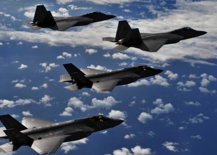 Cate aparate militare de zbor are fiecare tara: FOTO