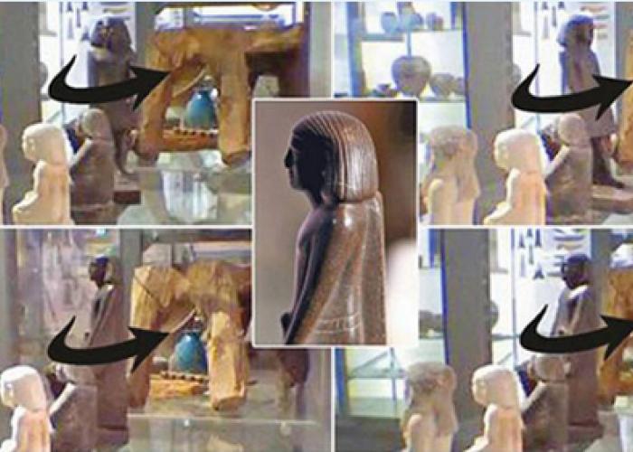 Au montant o camera in muzeu sa supravegheze o statuie: Ce au reusit sa filmeze tine de domeniul paranormalului! VIDEO