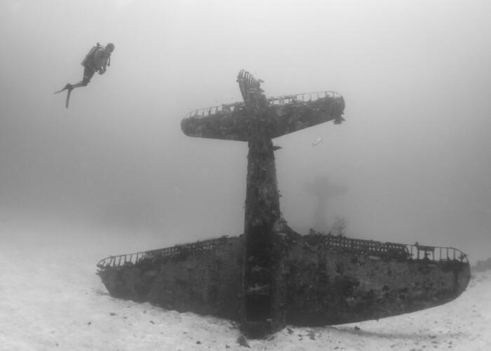 Cimitirul celui de-al doilea Razboi Mondial! Imaginile publicate in premiera sunt din alta lume