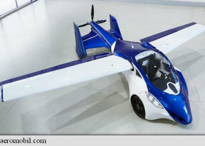 Aceasta este prima masina zburatoare perfect functionala: