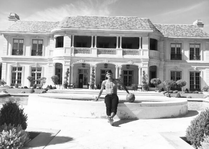 Palatul in care sta Neymar in Beverly Hills costa 9.000 de euro pe noapte! Cum arata inauntru FOTO