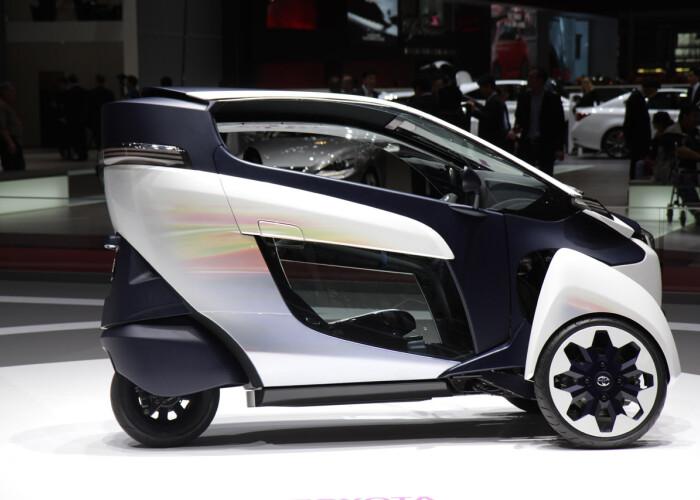 Asa va arata viitorul? Cel mai nou concept Toyota face senzatie in oras! VIDEO