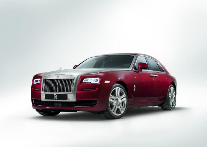 Salonul Auto Geneva 2014: Rolls Royce a dezvelit Ghost Seria II:  Un salon de 5 stele FOTO