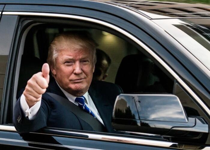 In interiorul noii masini blindate a lui Donald Trump. Cum arata Cadillac-ul de 1.5 milioane dolari