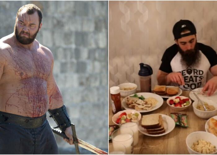 Ce se intampla atunci cand un om normal incearca sa adopte dieta Muntelui din Game of Thrones | VIDEO