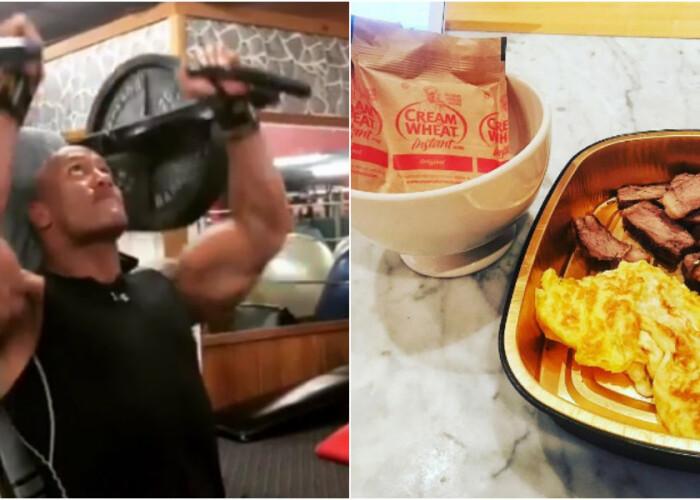 Cum se pregateste The Rock pentru rolul din Fast  Furious 8. Dieta cu 6.000 calorii pe zi si antrenamente dure