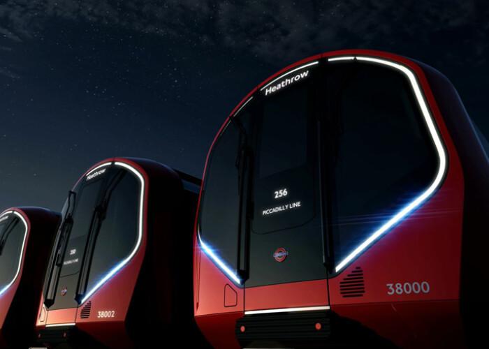 Au fost comparate cu o nava spatiala din Star Trek : Asa arata noile metrouri din Londra! VIDEO